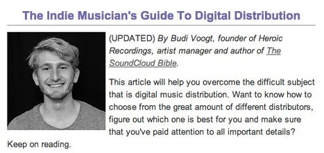 How To Distribute and Sell Your Music Online: A Guide for Independent Musicians | Online Business Models | Scoop.it
