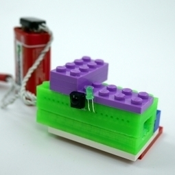 3D printed LEGO compatible Arduino Micro Casing | Arduino progz | Scoop.it