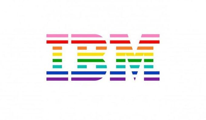 IBM unveils rainbow logo in solidarity with LGBT community