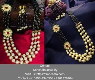 3 Layer Moti Mangalsutra In Jewelers Scoop It