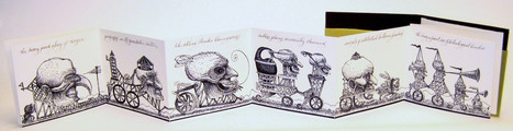 Bookmarking Book Art - David M. Moyer | Books On Books | Scoop.it