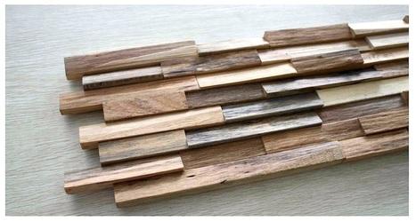 Panneaux muraux en bois massif rev temen for Mur en bois interieur