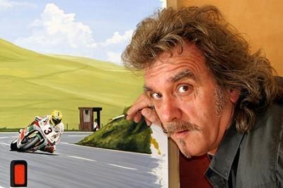 StayOnTheBlack | Motorsport Artist & Racer Gareth 'Gruff' Jones, 1950 – 2012 | Ductalk Ducati News | Scoop.it