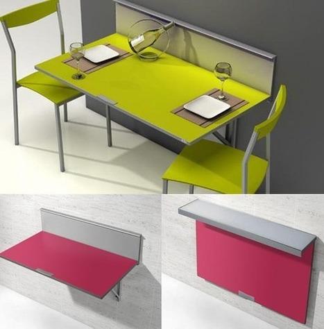 Muebles de cocina modernos: Mesas abatibles. | ...