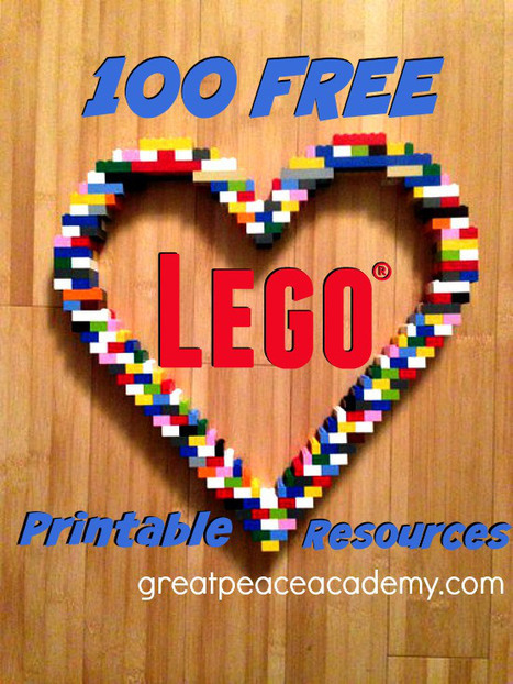 100 Free LEGO Learning Printables - Great Peace Academy #makered | Educação, EaD e Games | Scoop.it