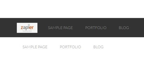 How To Add A Logo Image To Any Nav Menu | Développement webapp & applications | Scoop.it