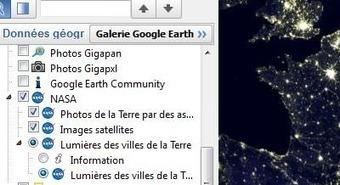 Comment avoir les vues de nuit sur Google Earth ? | Time to Learn | Scoop.it