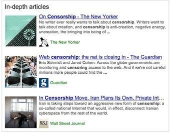 """""""In-depth Articles"""" A New Powerful Google Search Feature ~ Educational Technology and Mobile Learning 