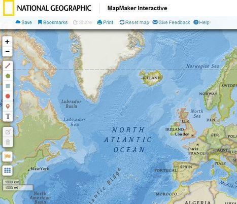 NatGeo Mapmaker Interactive | talkprimaryICT | Scoop.it