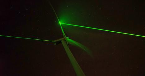 Transforming Wind Turbines Into a Mesmerizing Light Show   VPRO Tegenlicht   Scoop.it