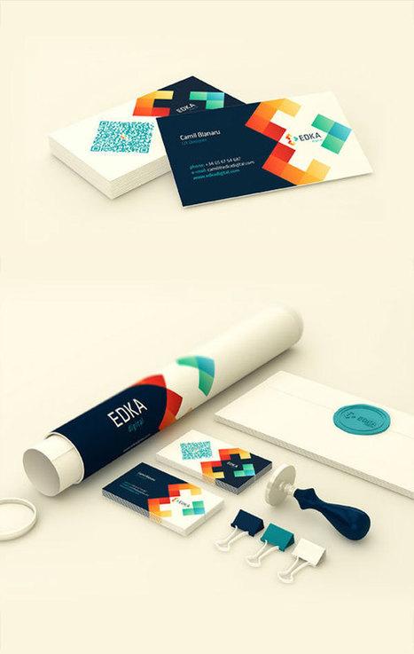 Edka Digital – Brand Identity by Vio Pintilie | Adobe Illustrator Tutorials | Scoop.it