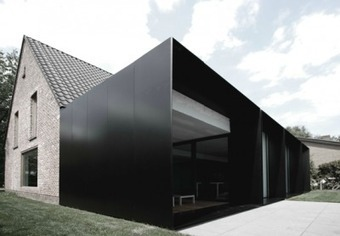 House DS: a minimalist extension to a Belgian farmhouse... | sustainable architecture | Scoop.it