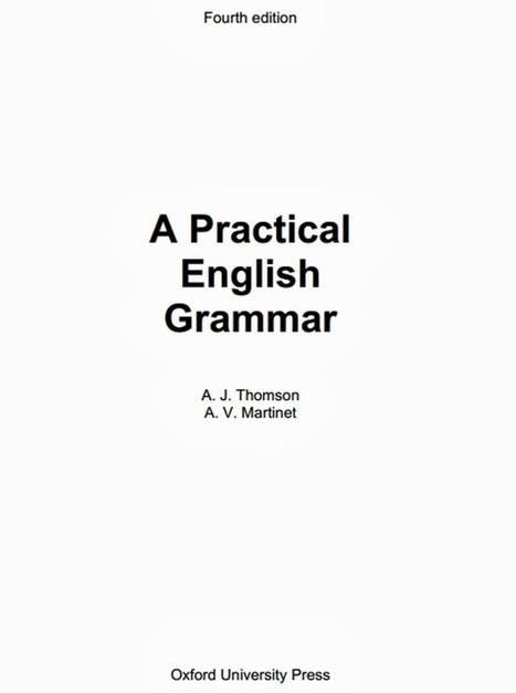 ebook free download pdf file: A Practical English Grammar - Oxford University Press | English topics | Scoop.it