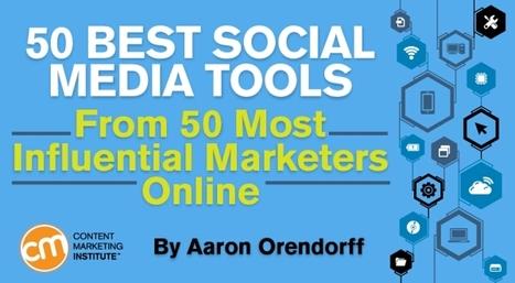 50 Best Social Media Tools From 50 Most Influential Marketers Online | Top Social Media Tools | Scoop.it