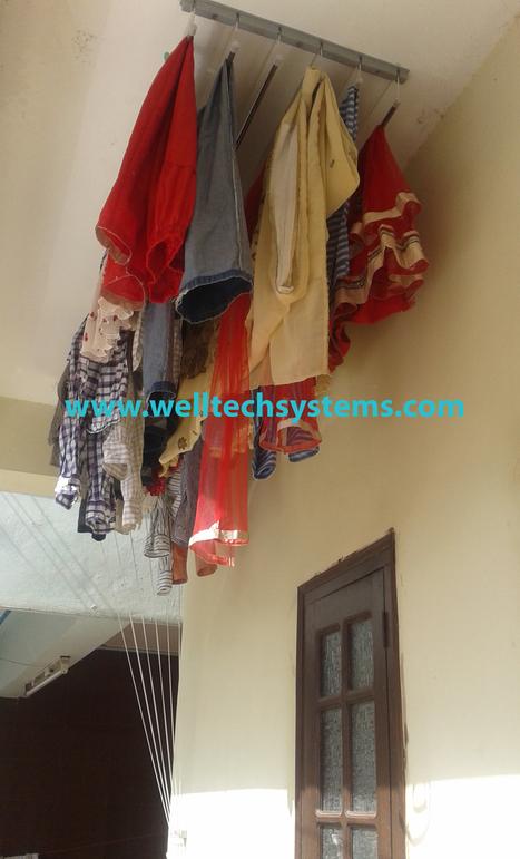 Ceiling Cloth Drying Hangersamravati
