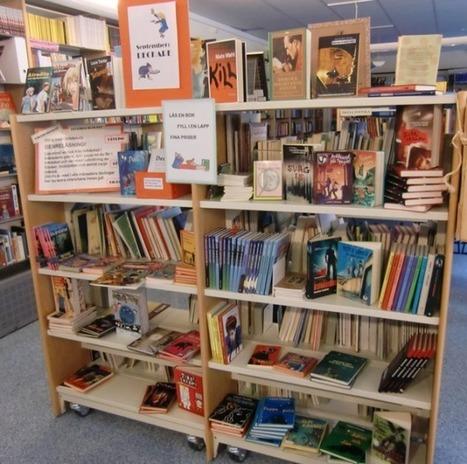 Läs en deckare | Vad gör de i biblioteket? | Kirjastoista, oppimisesta ja oppimisen ympäristöistä | Scoop.it