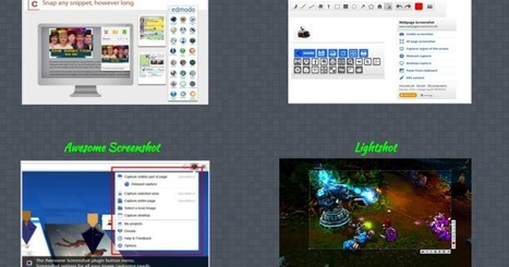 5 Great Chrome Extensions for Taking Screenshots ~ Educational Technology and Mobile Learning | Teaching, Learning, and Leadership | Scoop.it