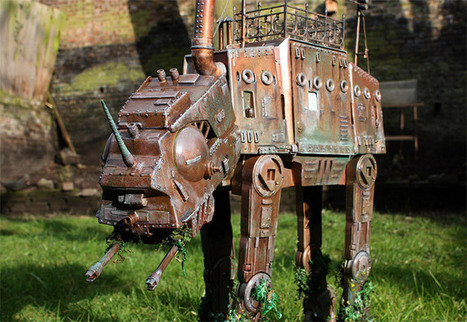 Steampunk ATAT and ATST Walkers | desktop liberation | Scoop.it