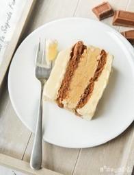 Tarta helada de vainilla, café y chocolate   L'Exquisit   À Catanada na Cozinha Magazine   Scoop.it