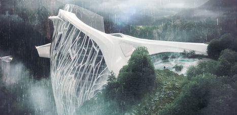 Découvrez cet hôtel futuriste au sommet des Alpes | D'Dline 2020, vecteur du bâtiment durable | Scoop.it