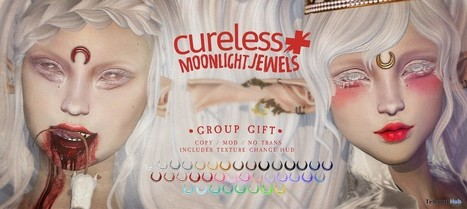 Moonlight Jewels Group Gift by CURELESS [+] | Teleport Hub - Second Life Freebies | Second Life Freebies | Scoop.it