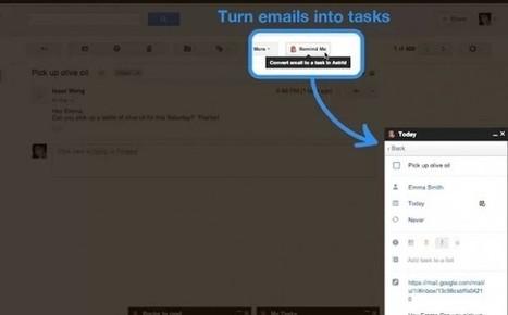 Remind Me, de Astrid – Gestión de tareas integrada en Gmail | RedDOLAC | Scoop.it