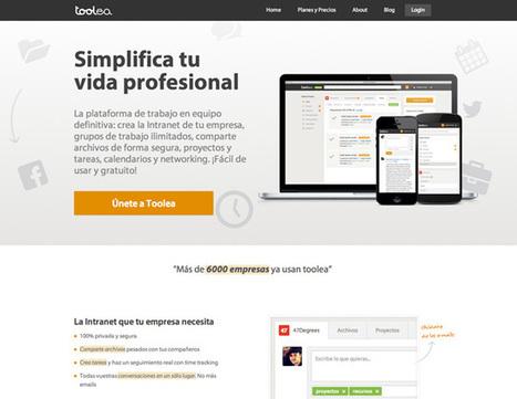 Toolea: la plataforma para trabajar en equipo | Andalucía Creative » Innovación, Tecnología, Internet, Diseño | Paco-Benarque | Scoop.it