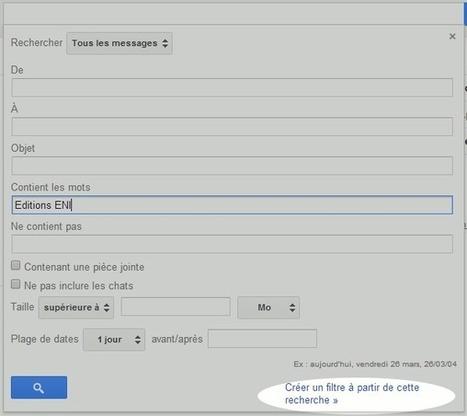 Créer un filtre automatique dans Gmail | Le Newbie | Management et promotion | Scoop.it