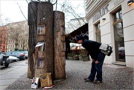 Public street-bookshelves in Berlin | espaces publics urbains | Scoop.it