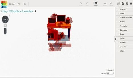 Tinkercad: utilidad web gratuita para diseño e impresión de modelos 3D | Ferramentes digitals | Scoop.it