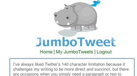 6 Tools That Allow You To Write Longer Twitter Tweets | Pedalogica: educación y TIC | Scoop.it
