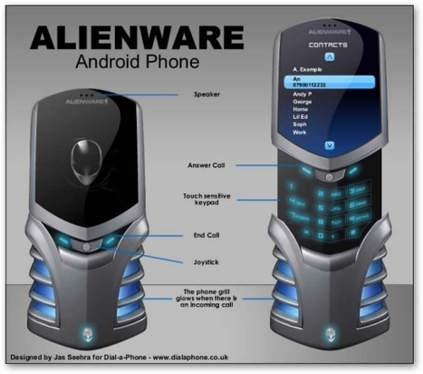 Alienware Mobile Phone design built on Android | All Geeks | Scoop.it