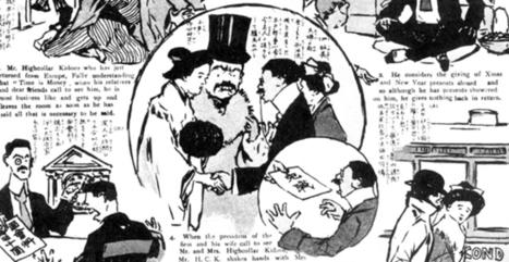 Japón: la llegada de occidente y las primeras viñetas mangakas - Buque ARTdora | Buque ARTdora | Scoop.it