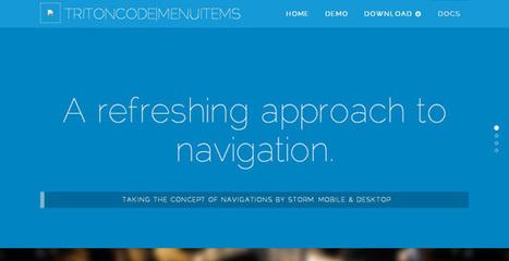 25 Responsive jQuery Navigation Plugins | Front-End Tutorials Blog | Community management | Scoop.it
