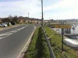 Piste cyclable de la Vélodyssée: attention, danger provisoire sans ménagement ! | RoBot cyclotourisme | Scoop.it