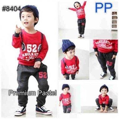 Baju Anak Laki PP 8404 Setelan Branded - baju anak branded murah e183833b22