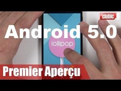 Android 5.0 Lollipop : le tour des améliorations graphiques en 2 minutes ! - YouTube   mobile enterprise   Scoop.it