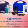 Ultrasound unit, ultrasound units portable, ultrasound for pain, Pain relief, ultrasound gel