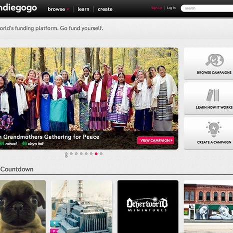 How to get your crowdfunding campaign to Indiegogo to the top (Wired UK) | Crowdfunding World | Scoop.it