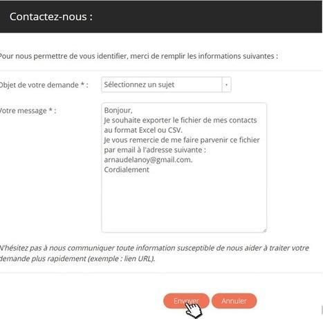 Comment exporter son carnet d'adresses Viadeo en 5 étapes ?   Usages professionnels des médias sociaux (blogs, réseaux sociaux...)   Scoop.it