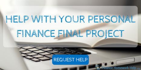 finance project topics