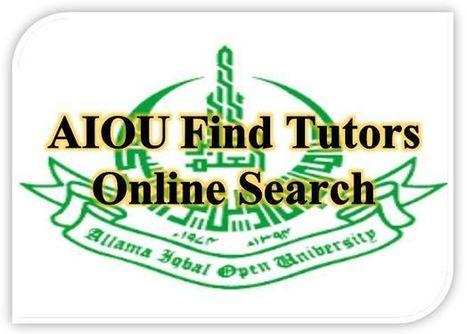aiou assignments tutor address