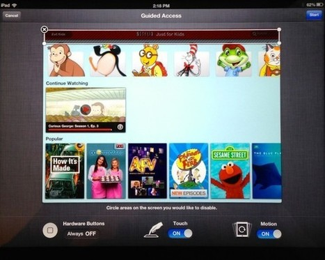 How to Lock the iPad to a Single App for Kid Mode | Educational IPad Info | Scoop.it