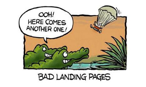 Des landing pages qui convertissent   Actu - ergonomie et parcours  web   Scoop.it