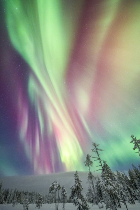 Magical Photos of Winter in Finland Under the Northern Lights | De Natura Rerum | Scoop.it