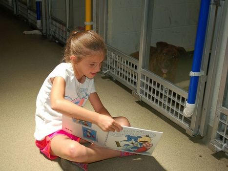 Kids are Reading to Shelter Dogs   Ebook and Publishing   Scoop.it