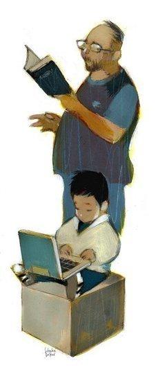 Libros, computadoras y cuentos: claves para el desarrollo cognitivo - Lanacion.com (Argentina) | Niños, cuentos y literatura infantil | Scoop.it