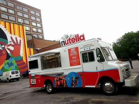 Un food truck Nutella offre un petit-déjeuner gratuit aux passants à Montréal | streetmarketing | Scoop.it