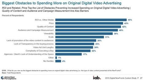 Progression des investissements et transferts des budgets TV devraient financer l'expansion de la vidéo en ligne aux USA, selon l'IAB USA | Veille Hadopi | Scoop.it