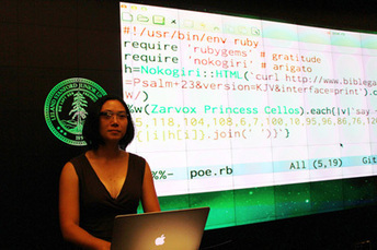 First Stanford code poetry slam reveals the literary side of computer code   The Spirit of the Times   Scoop.it